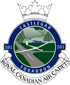 581 Castlegar Royal Canadian Air Cadet Squadron Logo
